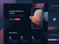Laurel - Free HTML landing page
