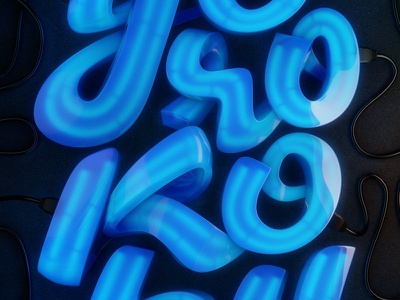 Yorokobu Magazine Cover yorokobu magazine lettering 3d c4d vray