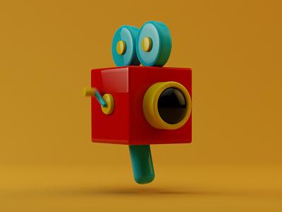 Video Icon icon ios octane cinema4d render video 3d