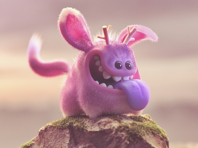 Perrete characterdesign cinema4d illustration 3d