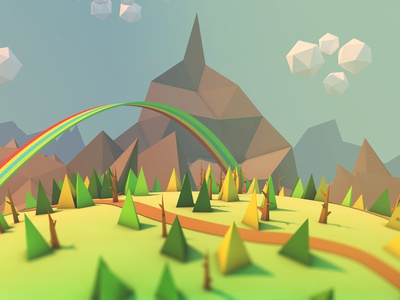 landscape for a new game