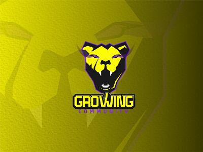 Growing Gamers Community Logo community brand vector ui logo illustration graphic design gamer logo gamer design branding adobe illustrator