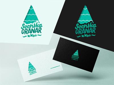 Svenska Granar Logo logo store store christmas adobe illustrator ecommerce tree branding bran visual identity logotype logo