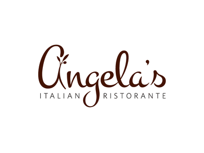 Angela's Italian Ristorante (Logo) logo identity brand redesign