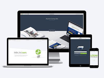 Portfolio Redesign redesign responsive web portfolio web design