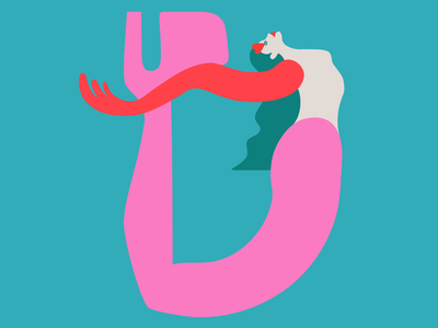 """D"" is for Dasha 36daysoftype 💖"