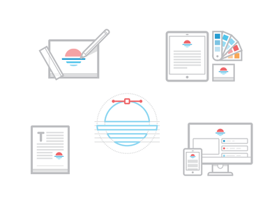 Service Icons services icons ui icon layout identity branding illustration