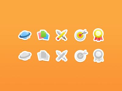 Community Icons icons sword pen creation world social community