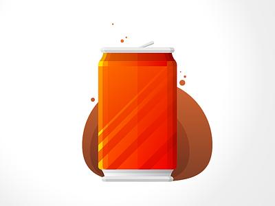 Cokie Can drink soft drink fizzy soda can coke