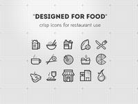 """""""Designed for food"""""""