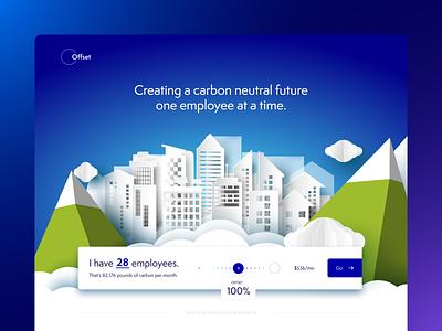 CarbonOff.co website ux ui design