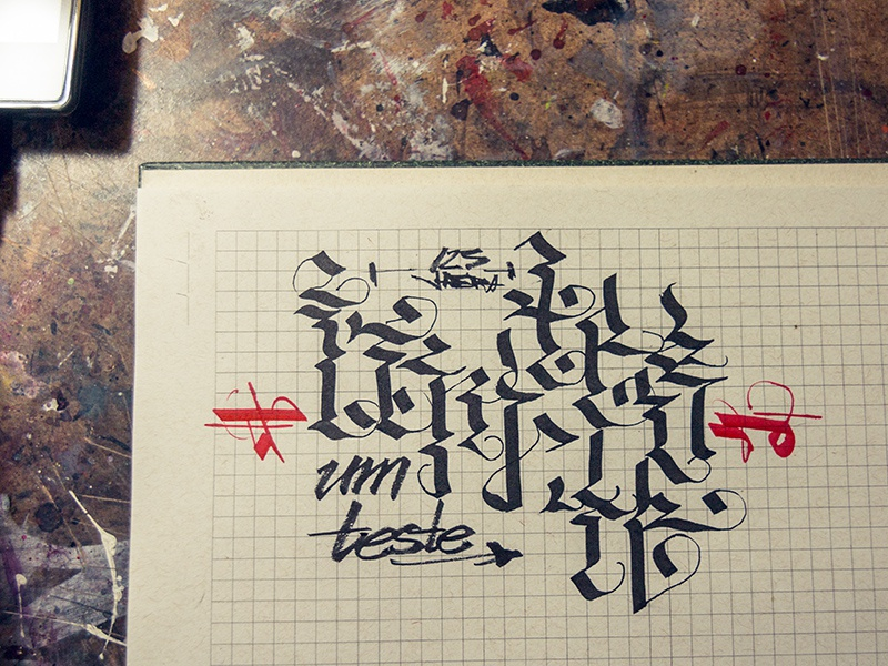 umteste calligraphy