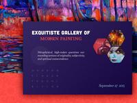 Invitation to Arts Gallery