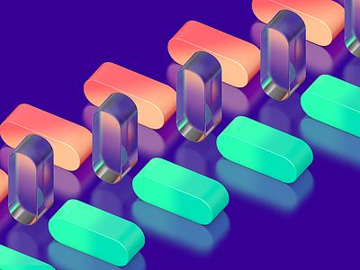 Plexiglass minimalist octane vray 4d cinema c4d material glass transparent shader texture plexiglass