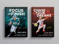 Zach & Julie Ertz Book Covers
