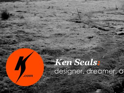 KenSeals.com - latest kenseals.me process site kenseals.com logo header photo bw black white