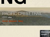 kennethseals.com - Hike landing page