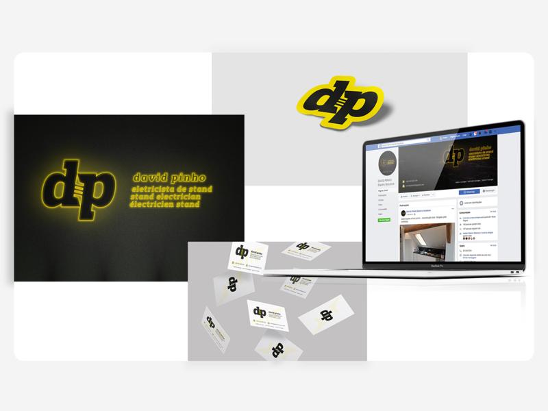 David Pinho - Moodboard facebook dp moodboards moodboard flash d logo electricity electric branding design letters logodesign identity one color logo logotipe monogram