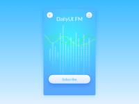 Dailyui 026 Subscribe