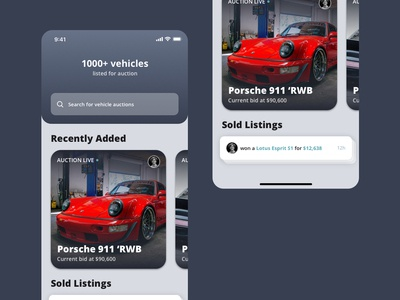 Vehicle Auction app - Day 2 of 30