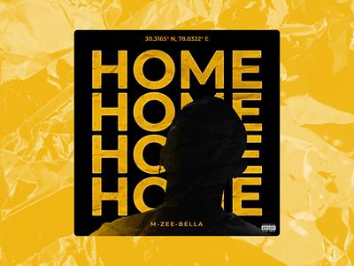 HOME - ALBUM POSTER song poster divine emiwaybantai mzeebella album cover art photoshop graphic design