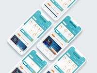 concept ui design for mymci application