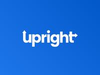 Upright Web Logo Concept