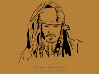 MugSketch: Captain Jack Sparrow
