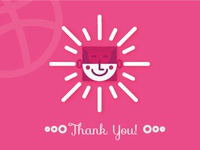 Dribbble debut - Thank You!