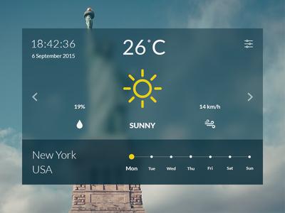 004 - Weather Widget
