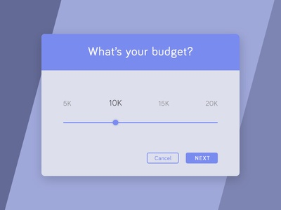 017 - Whats Your Budget