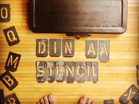 Stencil Din | part 01