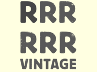Vintagizer - the R