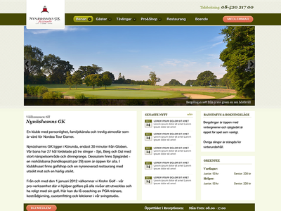 Nynashamnsgk3 golfcourse website golf