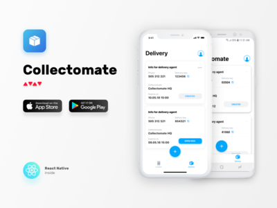 Collectomate mobile wroclaw cards home feed reactnative android ios nomtek