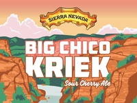 Sierra Nevada Sour Cherry Ale Label