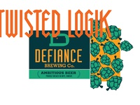 defiance Brewing Co. Illustration Detail