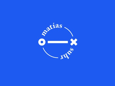 Matias Suhr - Logo minimal seal crest branding identity logotype logo