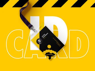 Garage Films Id Card stationery gear garage film business branding brand card id