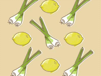 Lemon-Lemongrass Illustration