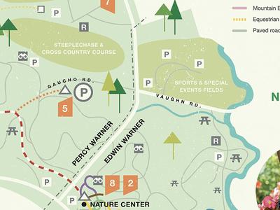 Springtime Warner Parks Map