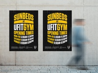 Sunbed Posters
