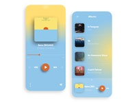 Chameleon Music Player Interaction | Colourful