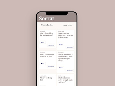 Socrat Mobile Version