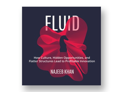 Fluid Book Cover By Najeeb Khan