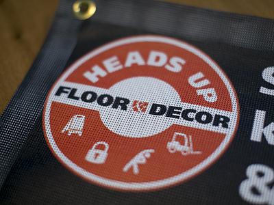 Heads Up! safety flat clean design mark logo branding