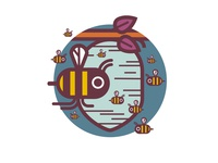 Animal Builder Series - Bee