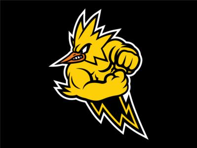 Instinct instinct pokego go logo mascot pokemon zapdos