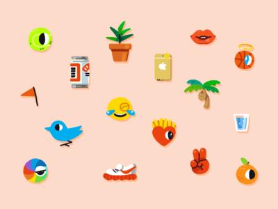 Icons - Voidboy play fun eye emblem illustration design iconography icon
