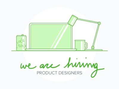 Hiring Product Designers!